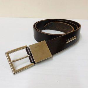 "Dolce & Gabbana Brown leather belt 36"""